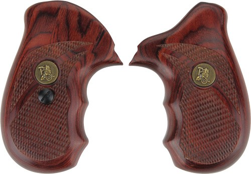 PACHMAYR LAMINATED WOOD GRIPS S&W J-FRAME ROSEWOOD CHECKERED – GunStuff TV