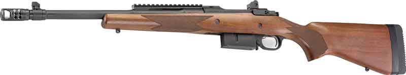 RUGER M77-GS GUNSITE SCOUT RIFLE  450 BUSHMASTER WALNUT