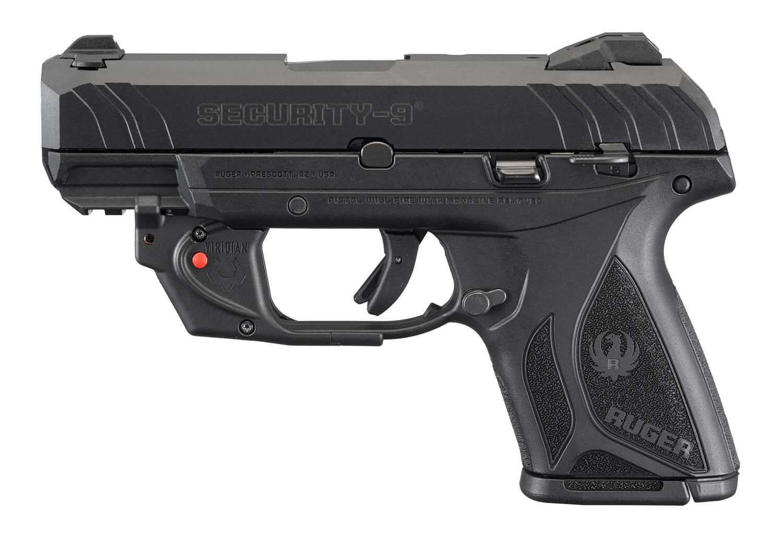 Ruger 3830 Security-9 with Viridian Laser 9mm 3 42