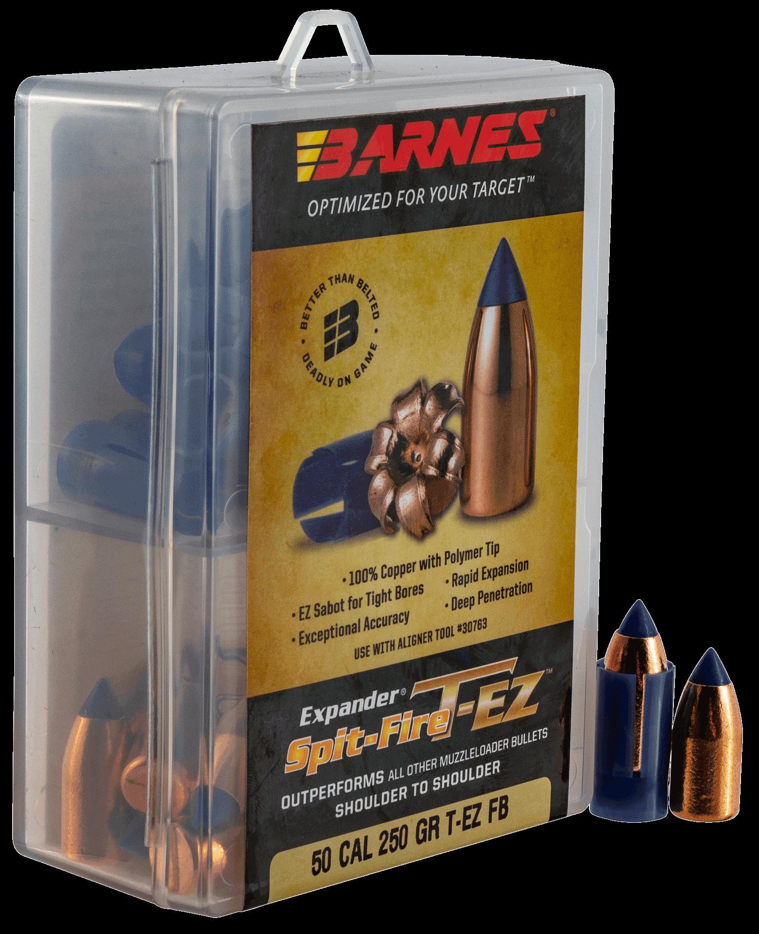 Barnes Bullets 30601 Spit-Fire T-EZ 50 Black Powder 250 GR ...
