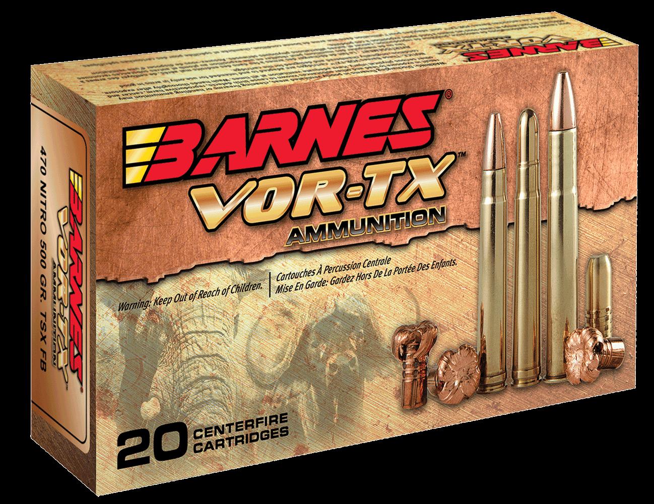 Barnes Bullets 22008 VOR-TX Rifle 22-250 Rem 50 gr TSX ...